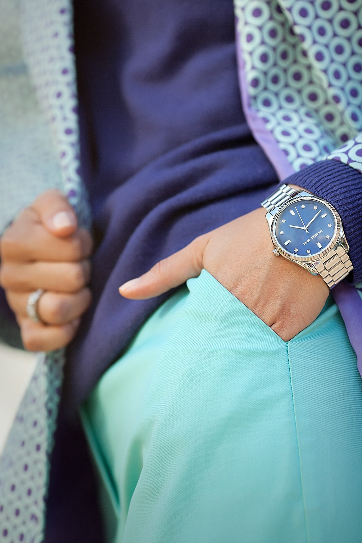 michael kors watch on GalantGirl.com