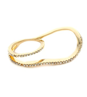 Jules Smith Swirly Pave Double Ring