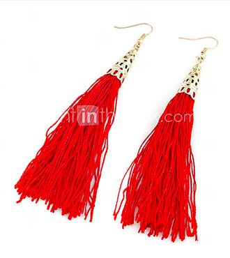Tassel Earrings on LightInTheBox