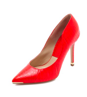 Michael Kors Collection Avra Pointy Toe Pumps