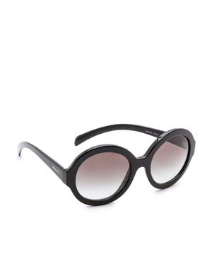Prada Rounded Sunglasses