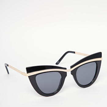 ASOS Metal Top Cat Eye Sunglasses