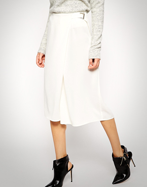 ASOS Culotte with Wrap Front and D-ring