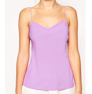 Ted Baker Layering Cami Top with Scallop Edge