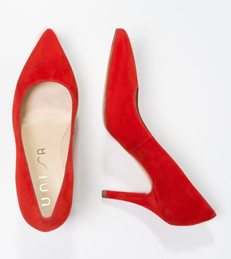 Unisa TADI - High heels - red