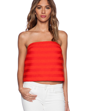 Bandeau top by TRINA TURK