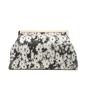 STELLA MCCARTNEY DAISY JACQUARD CLUTCH (50% OFF!!!)
