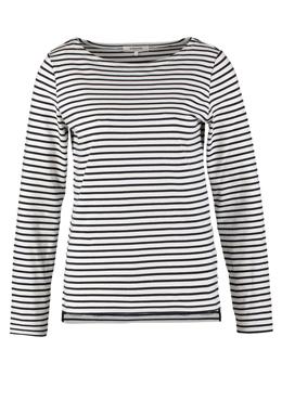 Zalando Essentials Long sleeved top - navy/white