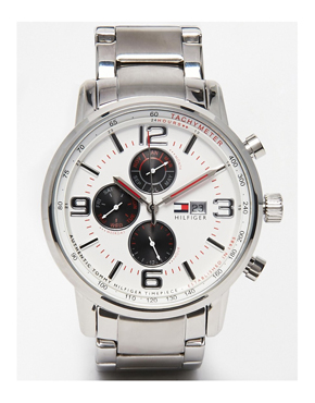 Tommy Hilfiger George Stainless Steel Watch