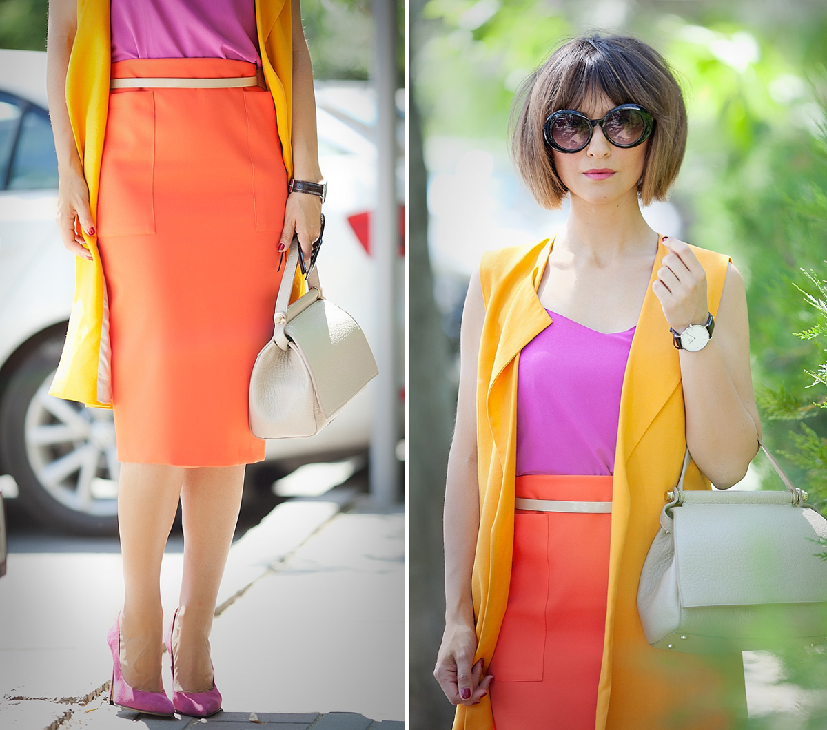 ladylikeoutfit_colorblock_colorblocked_colorblockoutfit_pencilskirt_pencilskirtoutfit_galantgirl