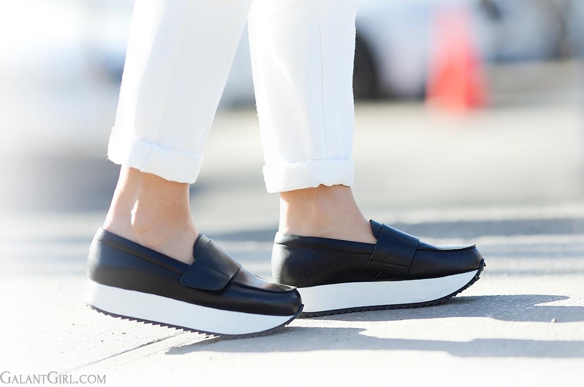 platform loafers Whistles on GalantGirl.com