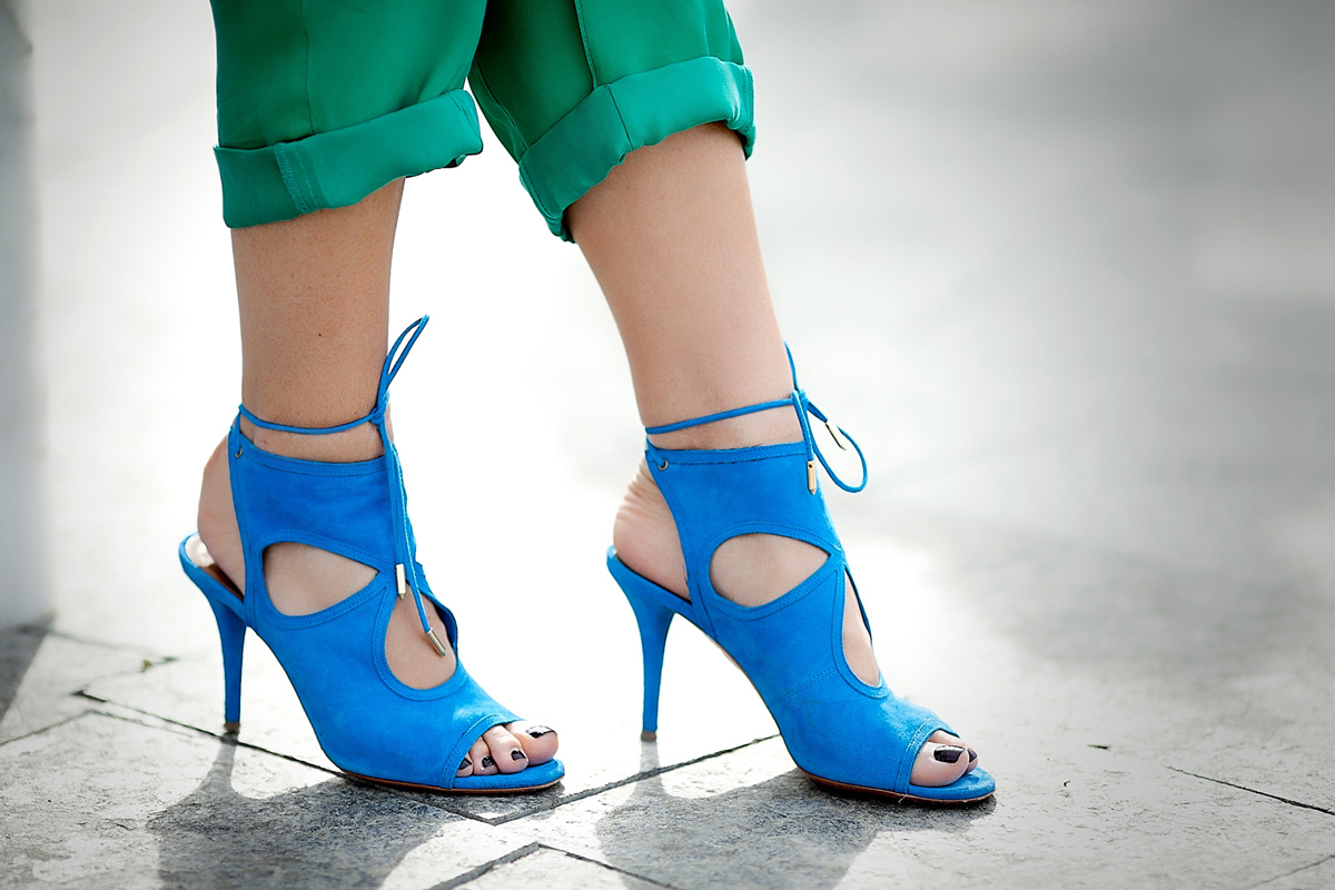 aquazurra heeled sandals on GalantGirl.com