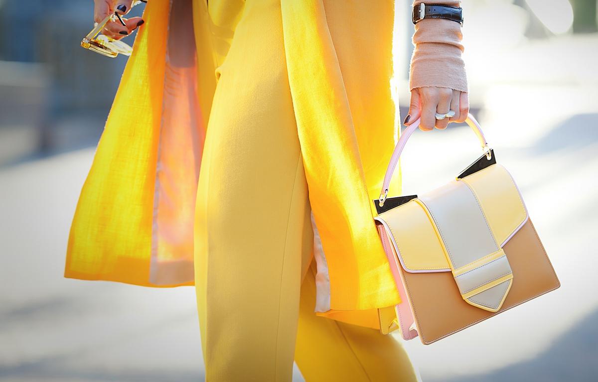 sara battaglia bag, orange in fashion, orange is the new black, street style, street style blog,