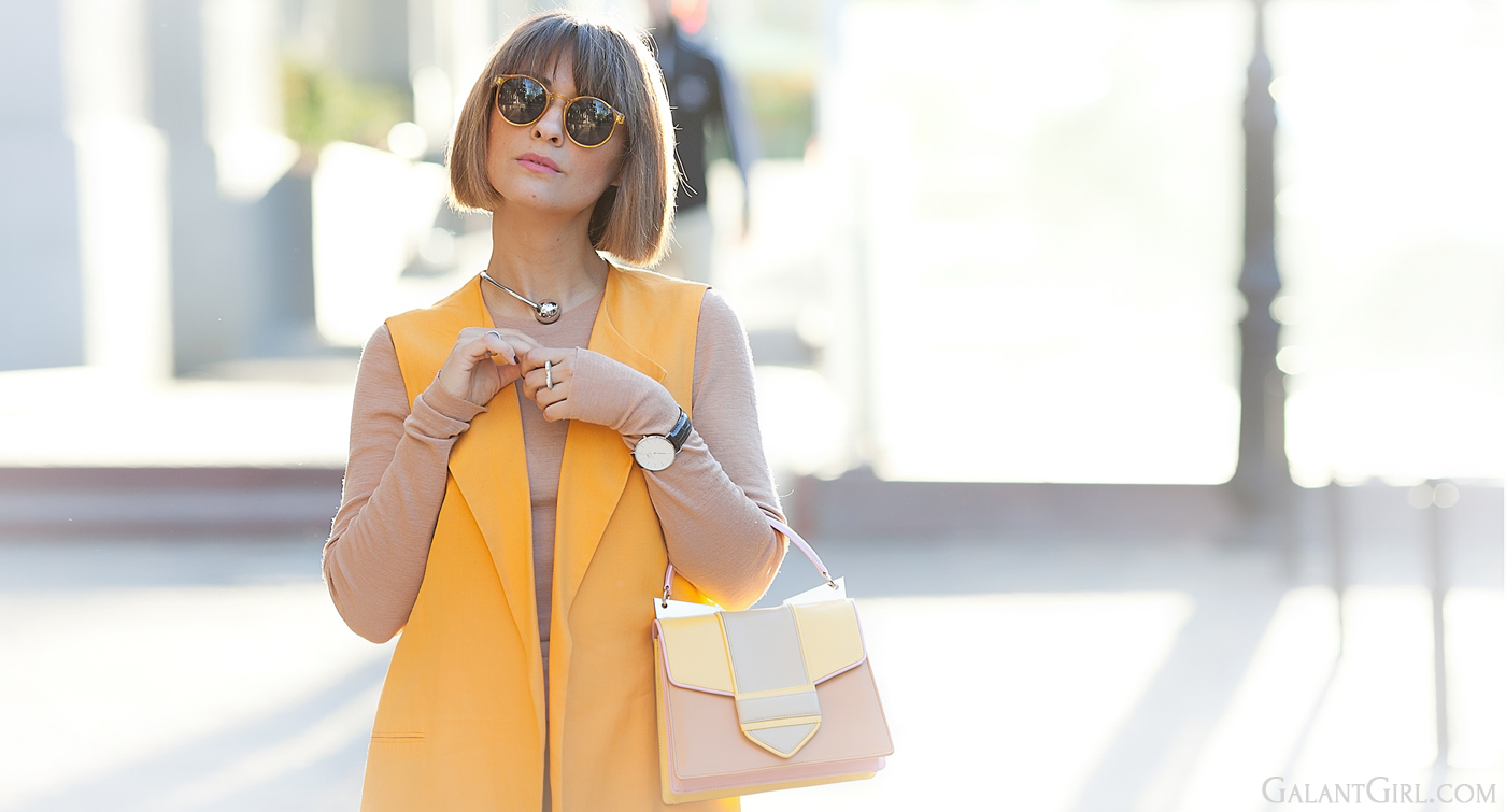 sara battaglia bag, orange in fashion, orange is the new black, street style, street style blog,