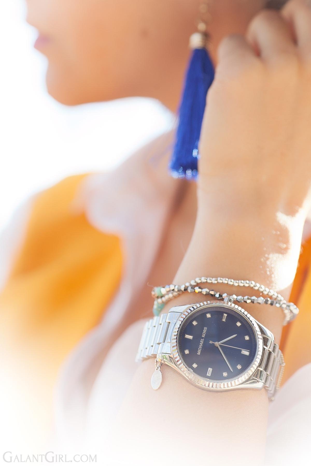michael kors watch, fashion details,