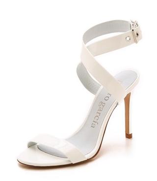 Pedro Garcia Cecily Glossy Sandals