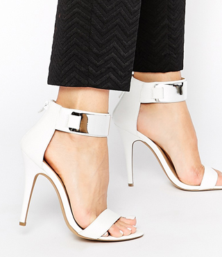 London Rebel Parker Heeled Sandal