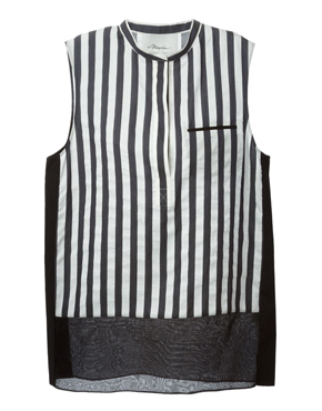 3.1 PHILLIP LIM striped sleeveless blouse