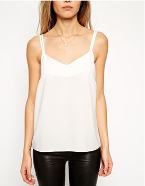 ASOS Woven Cami Top With Double Straps