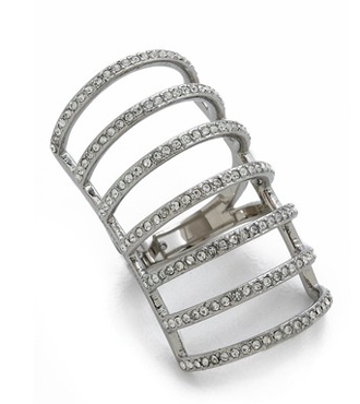 Michael Kors Pave Cage Ring