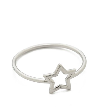 Aurelie Bidermann Silver Star Ring