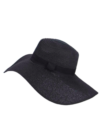 ALICE OVERSIZED FLOPPY STRAW hat