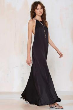 Slit Up Maxi Dress