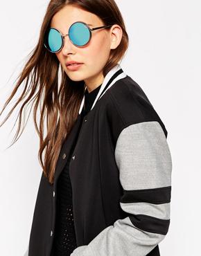 Quay Australia Chelsea Girl Round Sunglasses