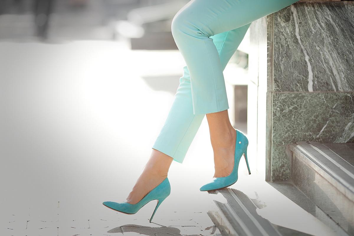 cesare-paciotti-blue-suede-pumps