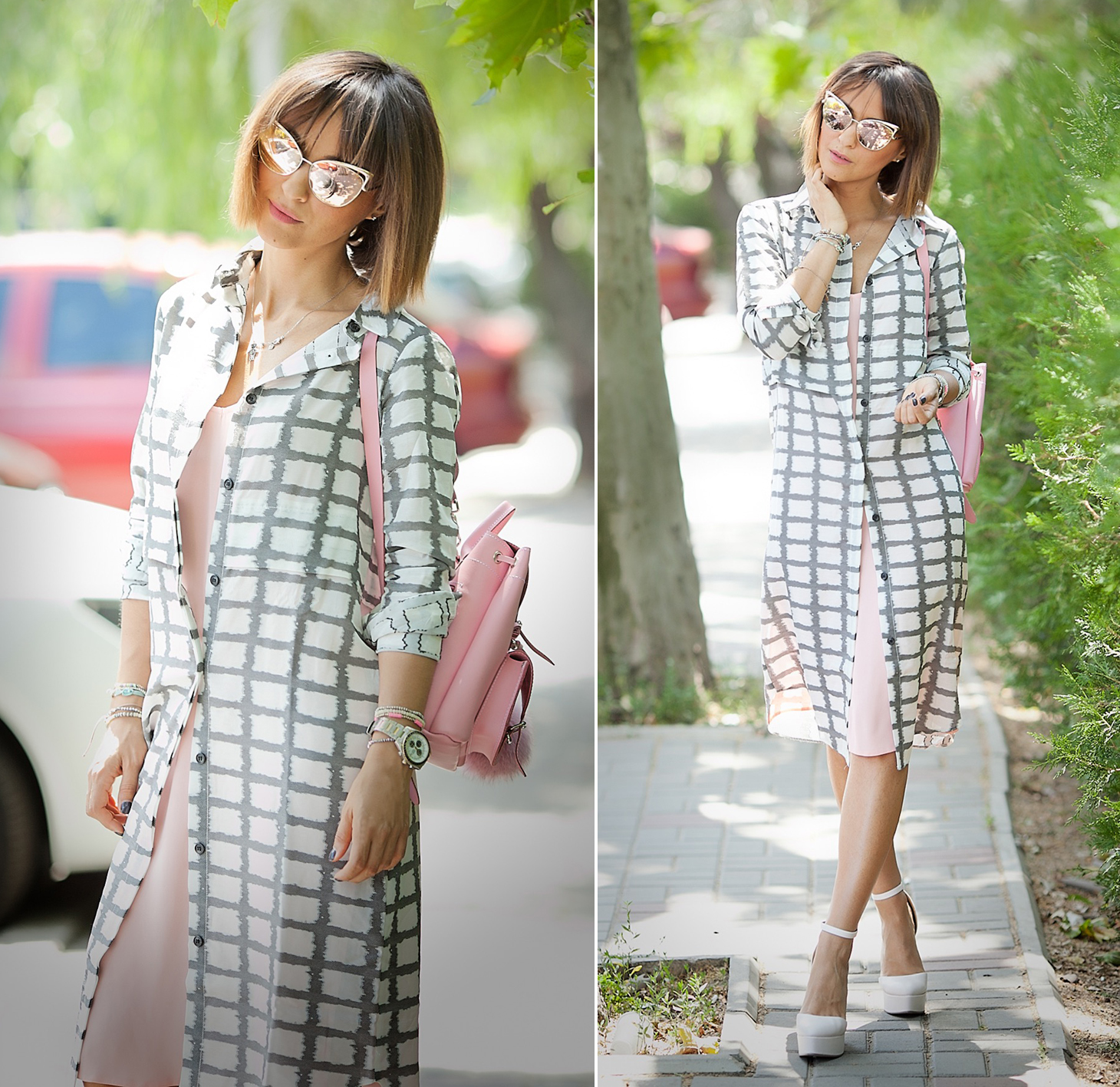 checked-dress-asos-summer-chic-outfit-fashion-blog-galant-girl