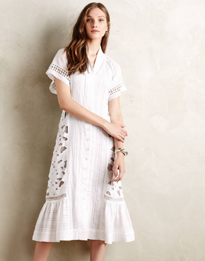 Sunlace Shirtdress