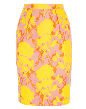 MIU MIU Floral pencil skirt