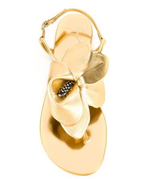 GIUSEPPE ZANOTTI DESIGN  flower sandals