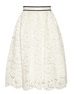 ALICE + OLIVIA lace skirt