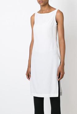 2NOIR  sleeveless long top