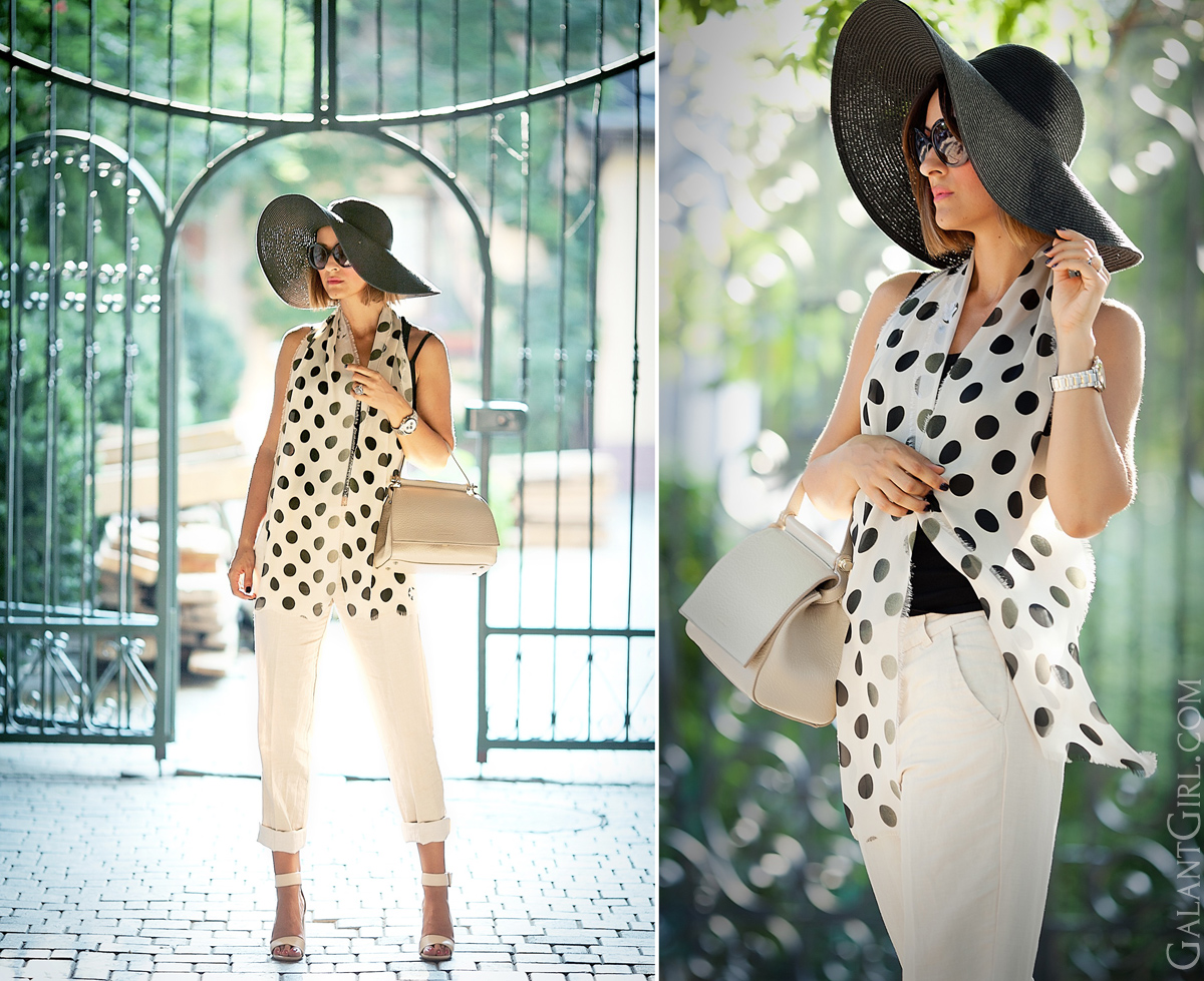 nude-polka-dots-outfit-chic-style-fashion-blogger-galant-girl