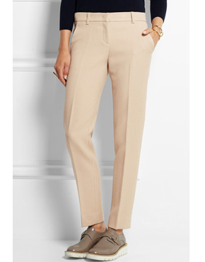 DKNY Wool-twill straight-leg pants