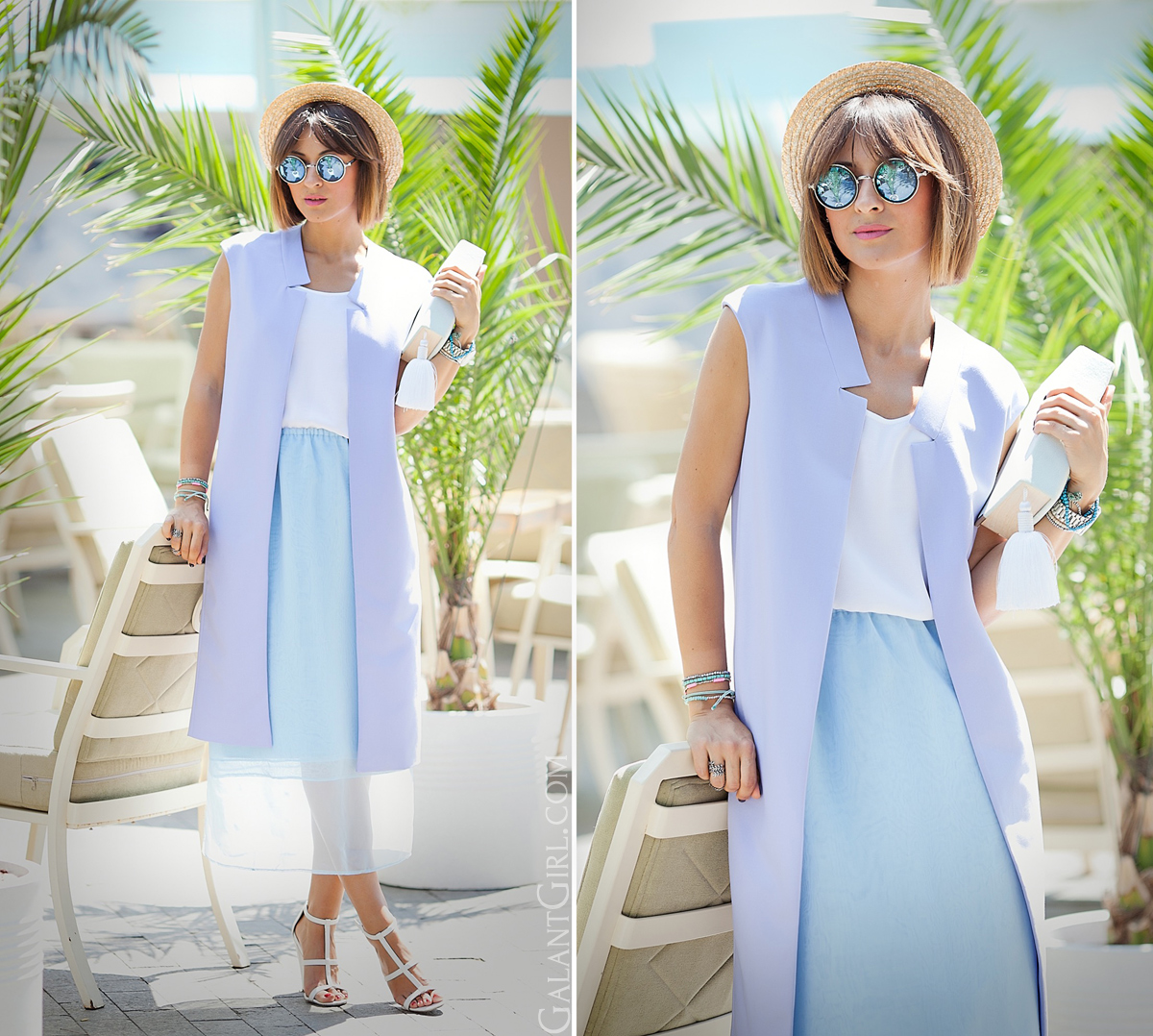 pastel-summer-outfit-with-long-vest-on-galant-girl