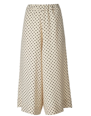 ANTONIO MARRAS  polka dot wide leg trousers