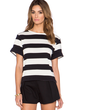 KATE SPADE NEW YORK striped top