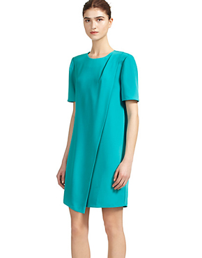 Whistles Asymmetric Drape Dress