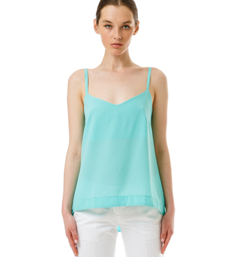 TURQUOISE CAMI TOP