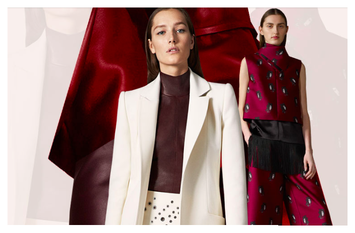 SHOP: Red WINE Colors For Fall