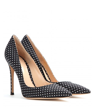 GIANVITO ROSSI Polka-dot pumps
