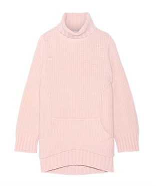 CHALAYAN Merino wool and cashmere sweater