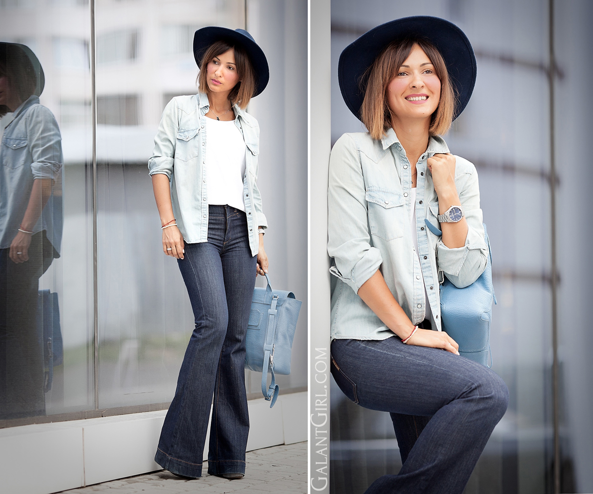 flare-jeans-outfit-by-fashion-blogger-galant-girl