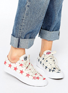 CONVERSE All Star printed canvas sneakers