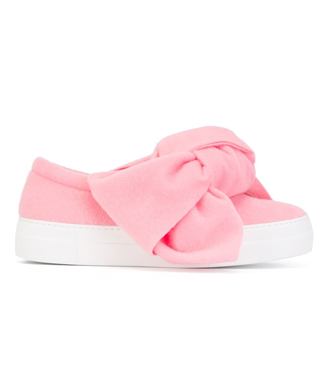 JOSHUA SANDERS  bow detail slip on sneakers