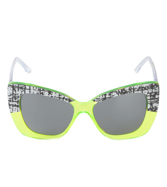 CUTLER & GROSS printed cat eye sunglasses