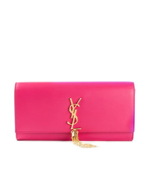 SAINT LAURENT  'Classic Monogram' clutch